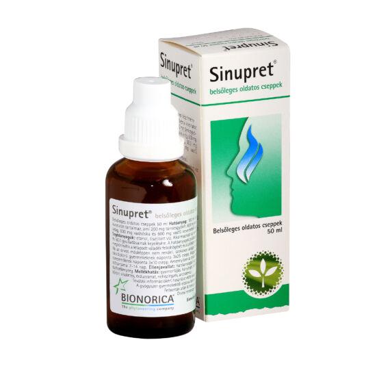 Sinupret belsőleges oldatos cseppek (50ml)