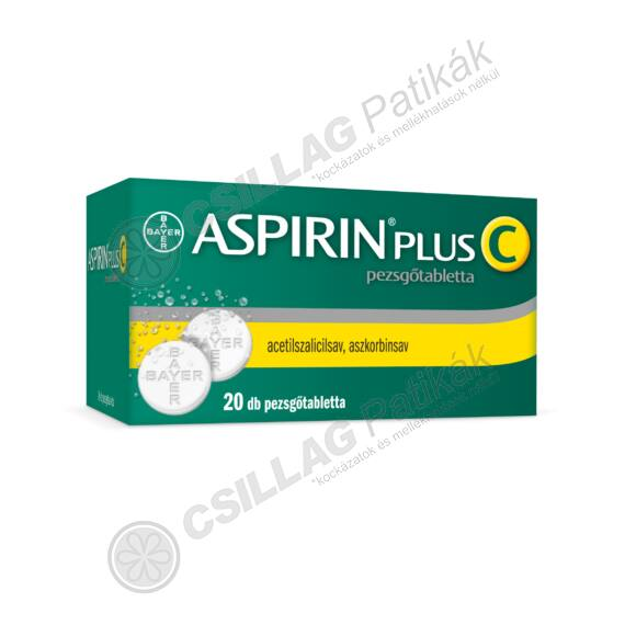 Aspirin Plus C pezsgőtabletta (20x)