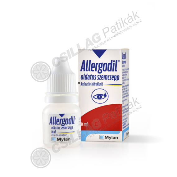 Allergodil oldatos szemcsepp (1x6ml)