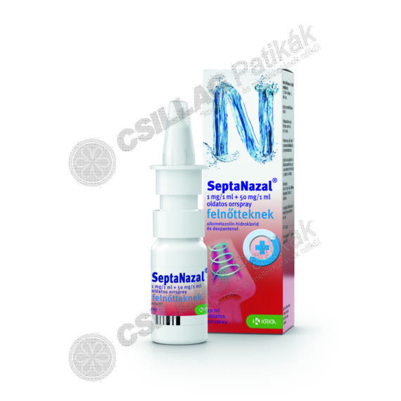 Septanazal 1 mg/1 ml + 50 mg/1 ml old.orrspr.feln. (10ml)