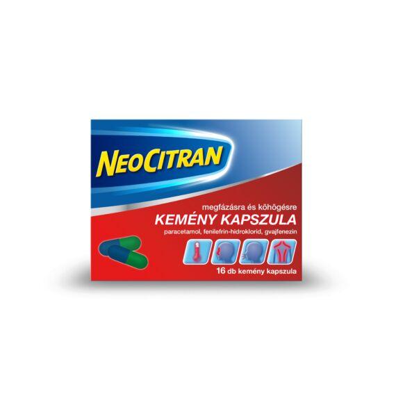 Neo Citran megfázásra/köhögésre kapszula (16x)