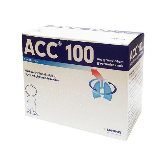 ACC 100 mg granulátum gyermekeknek (30x3g)
