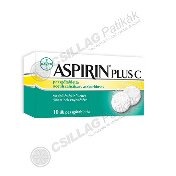 Aspirin Plus C pezsgőtabletta (10x)