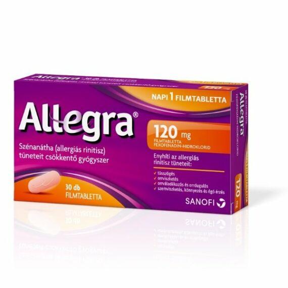 Allegra 120 mg filmtabletta (30x)