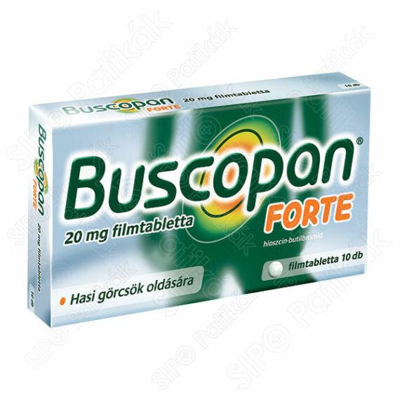 Buscopan Forte 20 mg filmtabletta (10x)