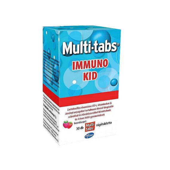 Multi-Tabs multivitamin rágótabl.Immuno KID (30x)