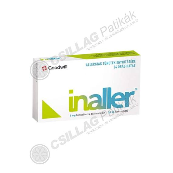 Inaller 5 mg filmtabletta (30x)