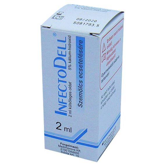 InfectoDell külsőleges oldat ecsetelésre (2ml)