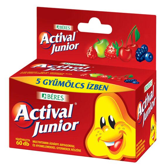 Actival Junior rágótabletta OGYI TT (60x HDPE tartály)