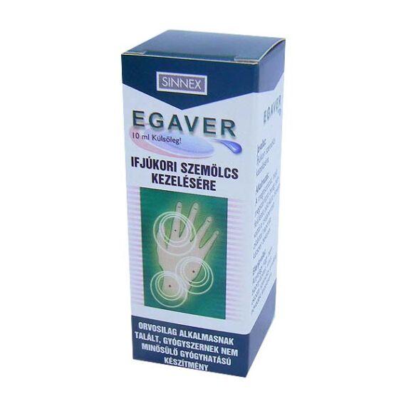 Egaverr szemölcs elleni ecsetelő (10ml)