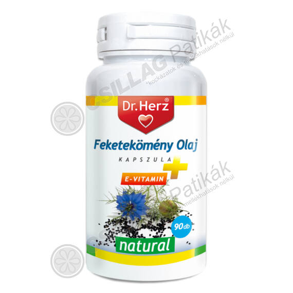 Dr.Herz Feketekömény olaj kapszula (90x)