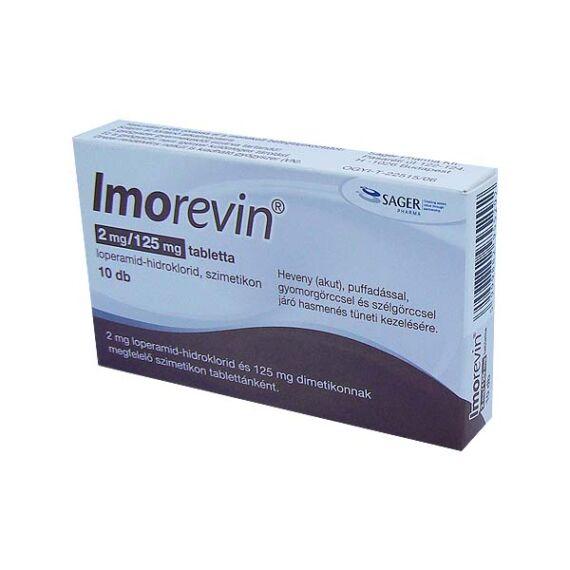 Imorevin 2 mg/125 mg tabletta (10x)