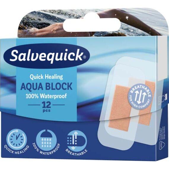 Salvequick Aqua Block sebtapasz (12x)