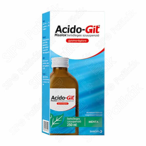 Acido-GIT Maalox belsőleges szuszpenzió (250ml PET palackban)