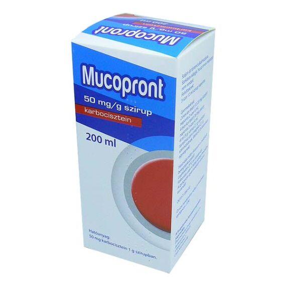 Mucopront szirup (200ml)
