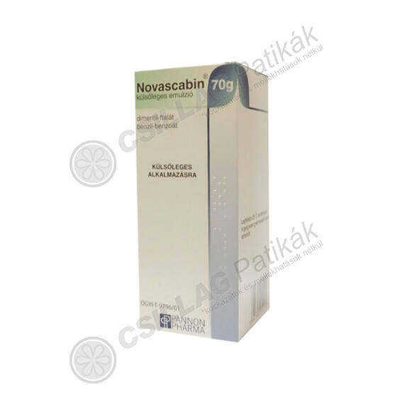 Novascabin külsőleges emulzió (70g)