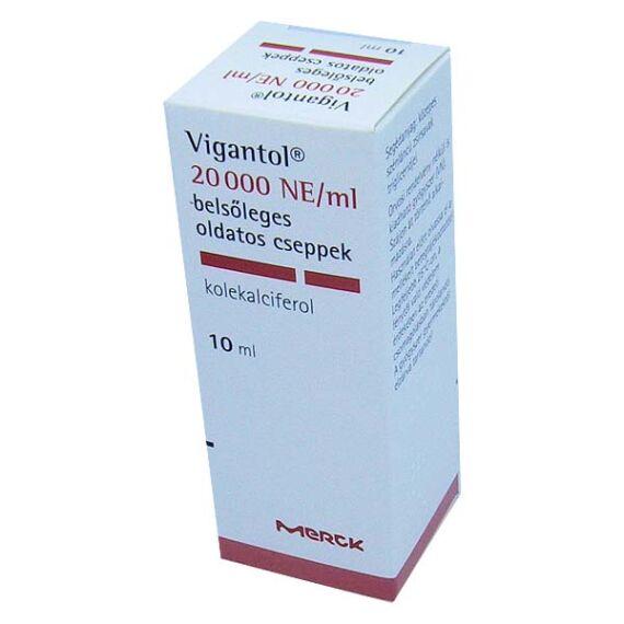 Vigantol 20000 NE/ml belsőleges oldatos cseppek (10ml)