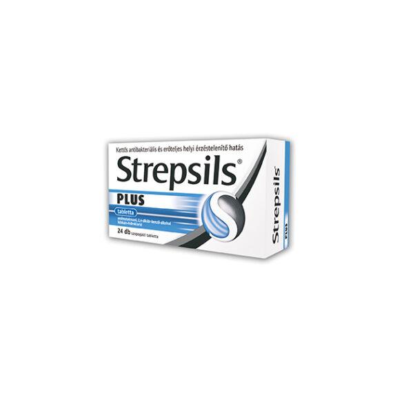 Strepsils Plus tabletta (24x)