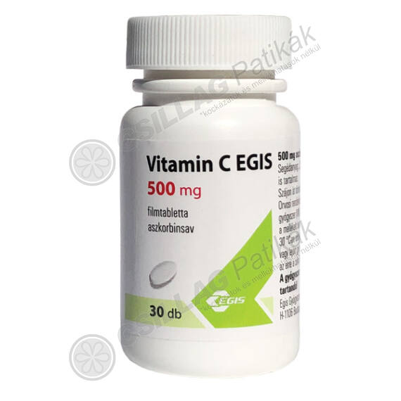 Vitamin C EGIS 500 mg filmtabletta (30x)