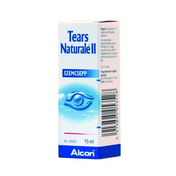Tears naturale II. oldatos szemcsepp (15ml)