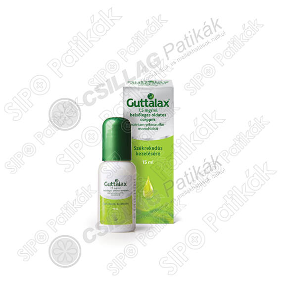 Guttalax (új n:Dulcolax) 7,5mg/ml belsőleges old.c (15ml)