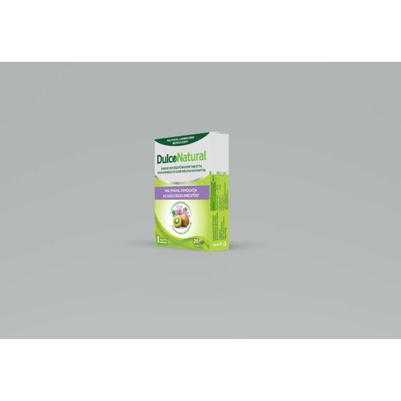 DulcoNatural tabletta kiwi/erdei mályva kivonattal (20x)