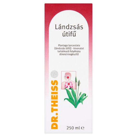 Dr.Theiss Plantago Lanceolata Lándzsás útifű folyékony étrend-kiegészítő (250 ml)