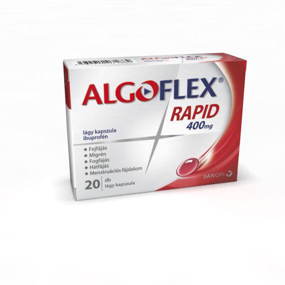 Algoflex Rapid 400 mg lágy kapszula (20x)