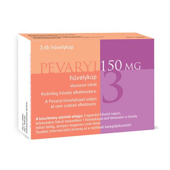 Pevaryl 150 mg hüvelykúp (3x)