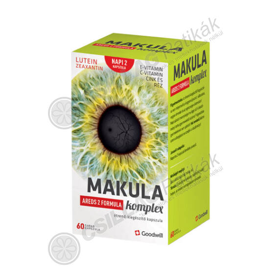 Makula Komplex AREDS 2 formula étrendkieg.kapsz. (60x)