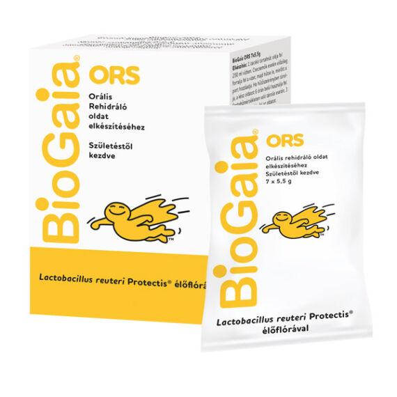 BioGaia ORS étrendkig. por orális rehidrálásra (7x)