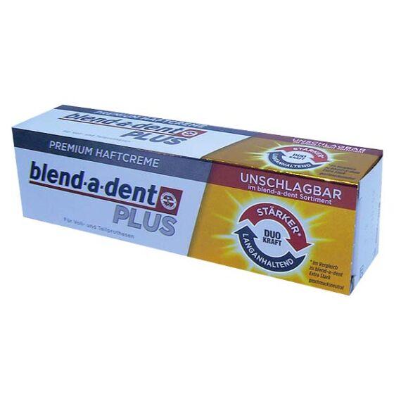 Blend-a-dent műfogsorrögzítő krém Prémium Plus Duo (40g)