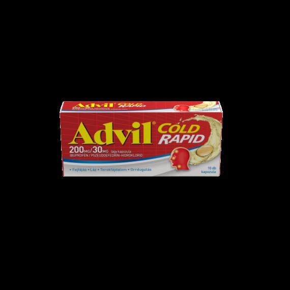 Advil Cold Rapid 200 mg/30 mg kapszula (10x)