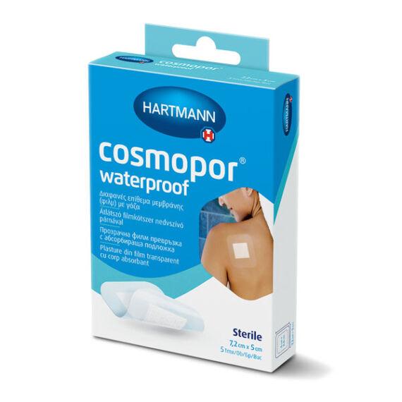 Cosmopor Waterproof st.sebtapasz vízálló 7,2x5cm (5x)