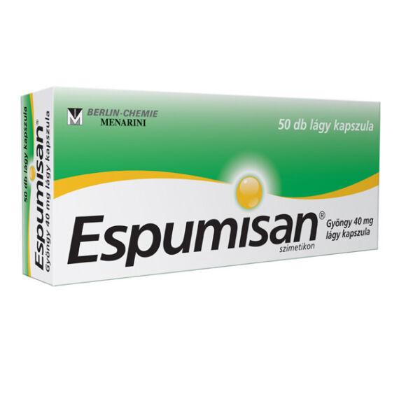 Espumisan Gyöngy 40 mg lágy kapszula (50x)
