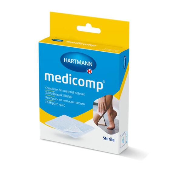 Medicomp sebpárna flísz steril  10x10cm (10x)