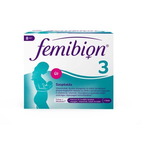 Femibion 3 Szoptatás filmtabletta és kapszula 56+56