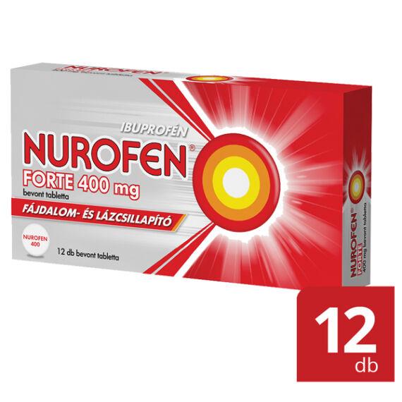 Nurofen Forte 400 mg bevont tabletta (12x (PVC/AL))