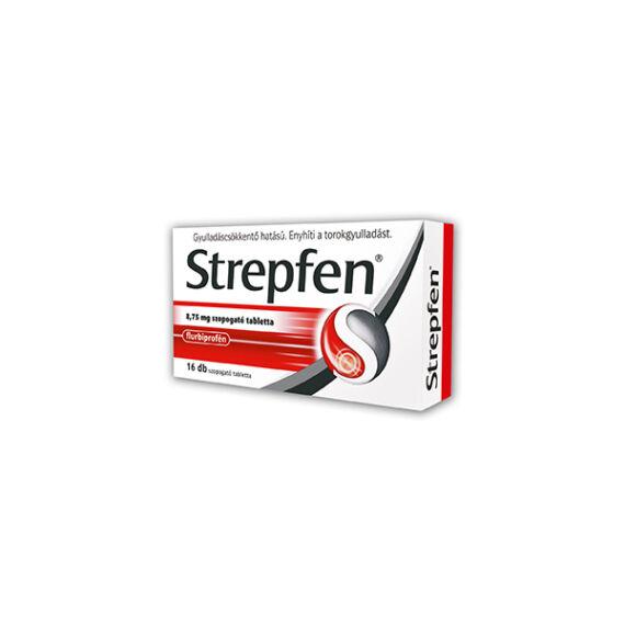 Strepfen 8,75 mg szopogató tabletta (16x)