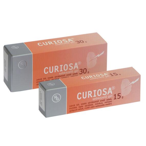 Curiosa sebkezelő gél (15g)