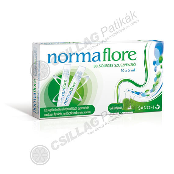 Normaflore belsőleges szuszpenzió (10x5ml)