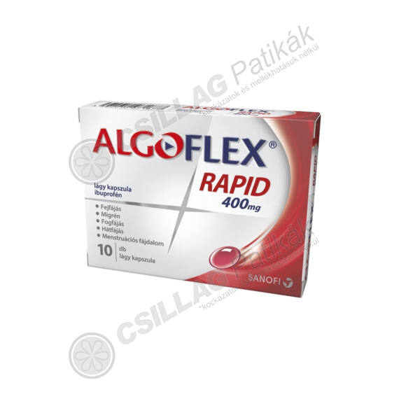Algoflex Rapid 400 mg kapszula (10x)