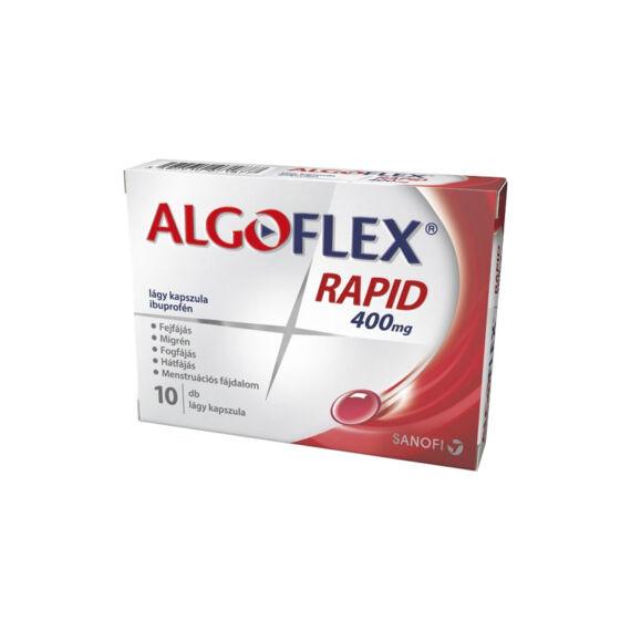 Algoflex Rapid 400 mg lágy kapszula (10x)