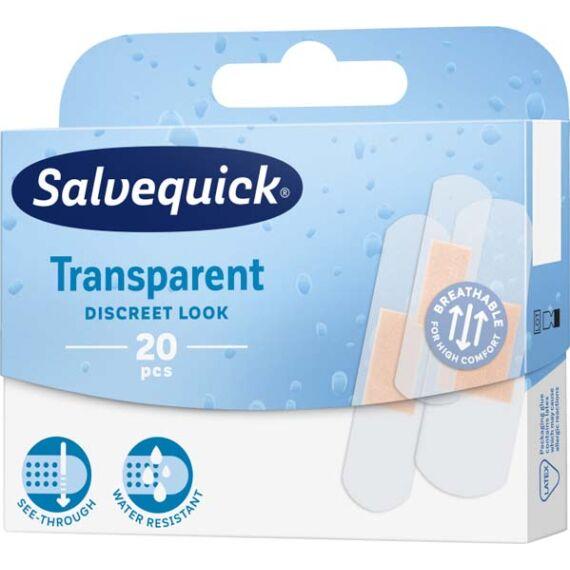 Salvequick sebtapasz átlátszó (626524) (20x)