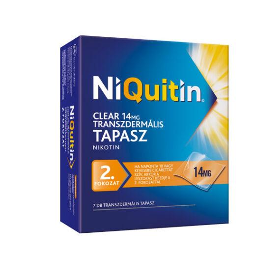 NiQuitin Clear 14 mg transzdermális tapasz (7x)