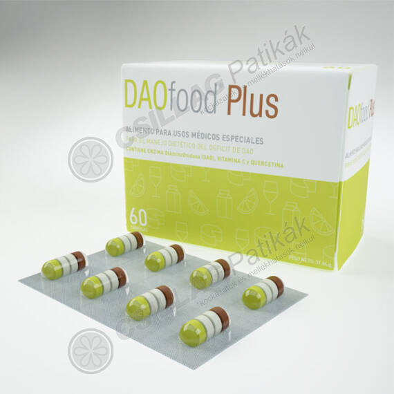 DAOfood Plus étrendkieg. kapszula (60x)