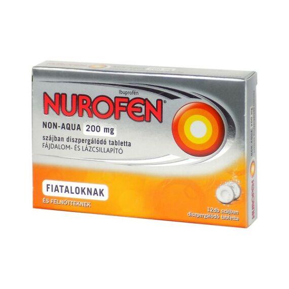Nurofen Non-Aqua 200mg szájban diszperg.tabletta (12x)