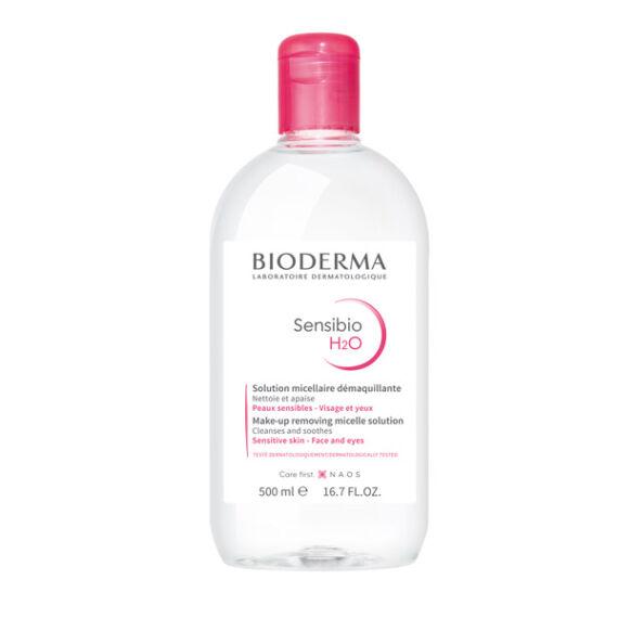 Sensibio H2O arc és sminklemosó BIODERMA (500ml)
