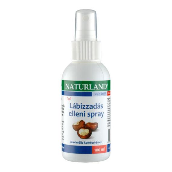 Naturland lábizzadás elleni spray (100ml)