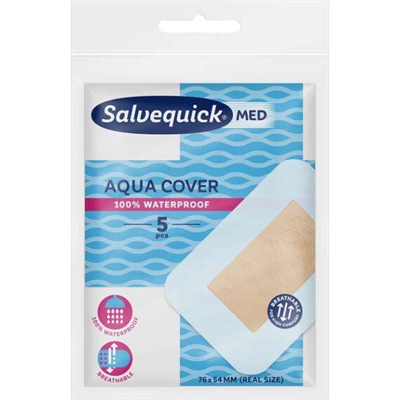 Salvequick sebtapasz Med aqua cover (5x)